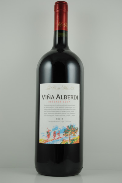 2007 VIÑA ALBERDI Reserva MAGNUM, La Rioja Alta